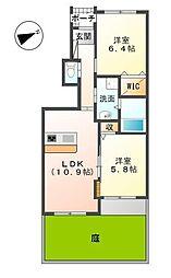 十連寺新築アパート[103号室]の間取り