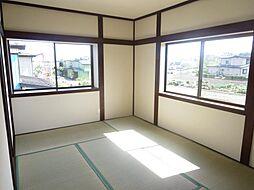 2階6畳の和室...