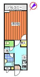 ハイツ菊地[305号室]の間取り