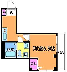 ソリッドリファイン稲田堤[2階]の間取り