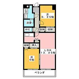 ザ・ミレニアムタワー[2階]の間取り