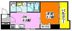 グラン・スイート 202号室[2階]の間取り