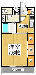 リブリ・ACEII[3階]の間取り