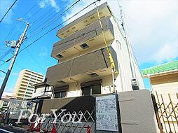 兵庫県神戸市東灘区深江南町2丁目の賃貸アパートの外観