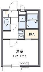 メンターズハウス[2階]の間取り