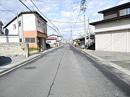 前面道路は幅員...