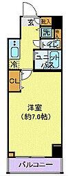 プロシード新横浜[902号室]の間取り