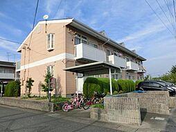 愛知県あま市中萱津大坊の賃貸アパートの外観
