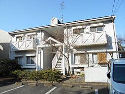 京都府京都市山科区髭茶屋桃燈町の賃貸アパートの外観