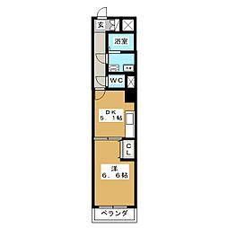 HF仙台五橋レジデンス[11階]の間取り