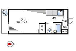 TAIYOマンション[105号室]の間取り