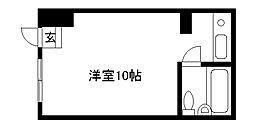 ロイヤルハイツII[1階]の間取り