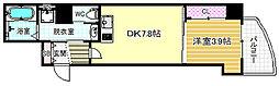 セレニテ梅田EST[12階]の間取り