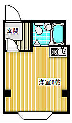 ベルコモンズ西加賀屋[301号室]の間取り
