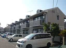 京都府京都市西京区桂池尻町の賃貸アパートの外観