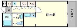 カーサマニエラ[4階]の間取り