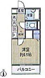 オリエンタルコート薬円台[105号室]の間取り