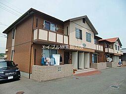 岡山県岡山市東区中尾丁目なしの賃貸アパートの外観