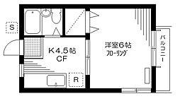 SUNCITY SAKURA[102号室]の間取り
