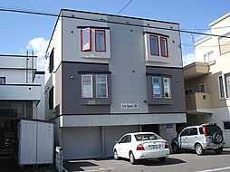北海道札幌市東区北三十九条東10丁目の賃貸アパートの外観