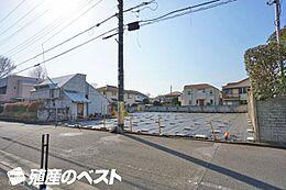 杉並区高井戸西2丁目の土地。広々とした敷地で、一戸建建築用地です。