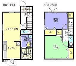 [テラスハウス] 福岡県福岡市城南区別府5丁目 の賃貸【/】の間取り