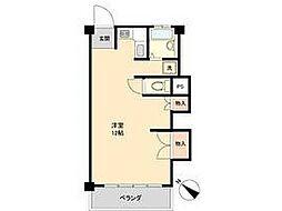 中野島マンション[2階]の間取り