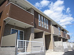 山口県宇部市大字中野開作の賃貸アパートの外観