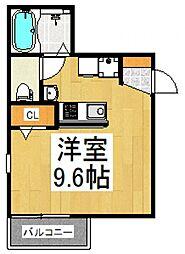 Renaissance亀有[1階]の間取り