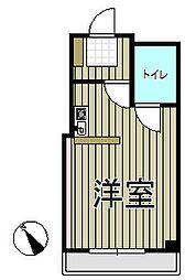 アイパレス大船[2階]の間取り