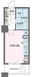 ドゥーエ横浜駅前[9階]の間取り