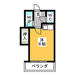 Livex VB[1階]の間取り