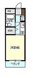 KI-3ビル[202号室]の間取り