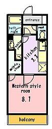 メゾン ド グリュ[3階]の間取り