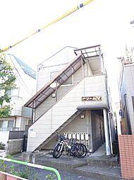 東京都北区神谷2の賃貸アパートの外観