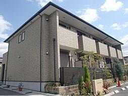 京都府京都市山科区四ノ宮岩久保町の賃貸アパートの外観