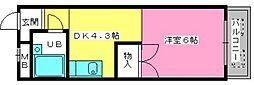 渡辺ハイツ[1階]の間取り