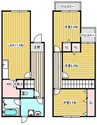 DIA住之江I[3号室]の間取り