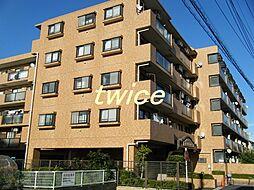 東京都青梅市師岡町2丁目の賃貸マンションの外観