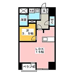 ウィンクラッセ[8階]の間取り