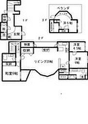 桜台コートハウス[102号室]の間取り