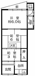 [一戸建] 大阪府大阪市西淀川区大和田5丁目 の賃貸【/】の間取り