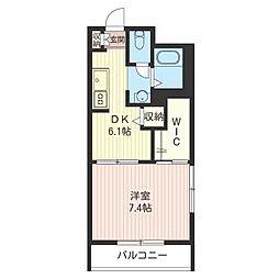 ヒルサイドスクェアII[3階]の間取り