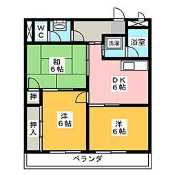 ラベンダー[2階]の間取り