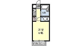 セジュールMAKOTO[205号室号室]の間取り