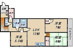 メゾン清風荘[2階]の間取り