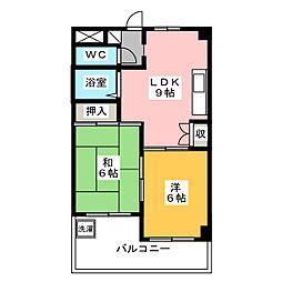 第3神谷マンション[4階]の間取り