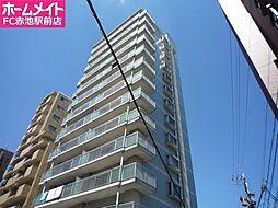 愛知県名古屋市天白区八幡山の賃貸マンションの外観