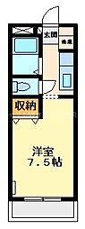 プチメゾン雅A[1階]の間取り