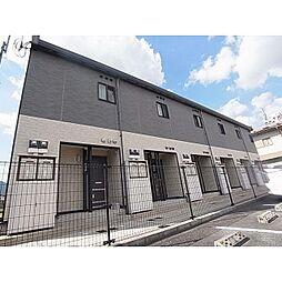 奈良県香芝市五位堂の賃貸アパートの外観